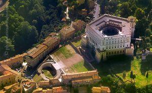 Veduta del Palazzo Farnese di Caprarola