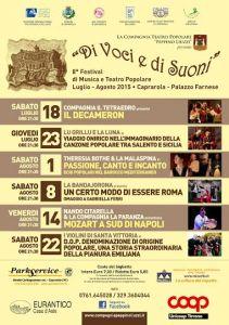 Leggi tutto: Di Voci e di Suoni - 2015 - Musica e Teatro Popolare