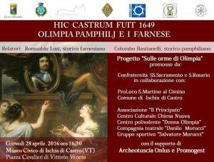 Leggi tutto: Hic Castrum Fuit - 1649 - Olimpia e i Farnese